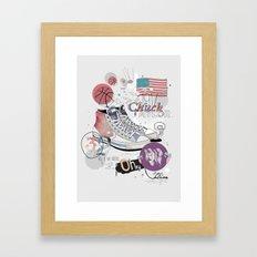 The Chuck Taylor Framed Art Print