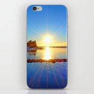 November Sun iPhone & iPod Skin