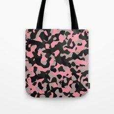 Pink Kitty Camo Tote Bag
