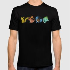 Starters v.2 Mens Fitted Tee Black SMALL
