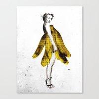 a lady's dream Canvas Print