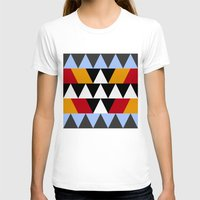 aztec T-shirts featuring Aztec by Chris Lang