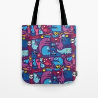 Mo' Monsters Mo' Problem… Tote Bag