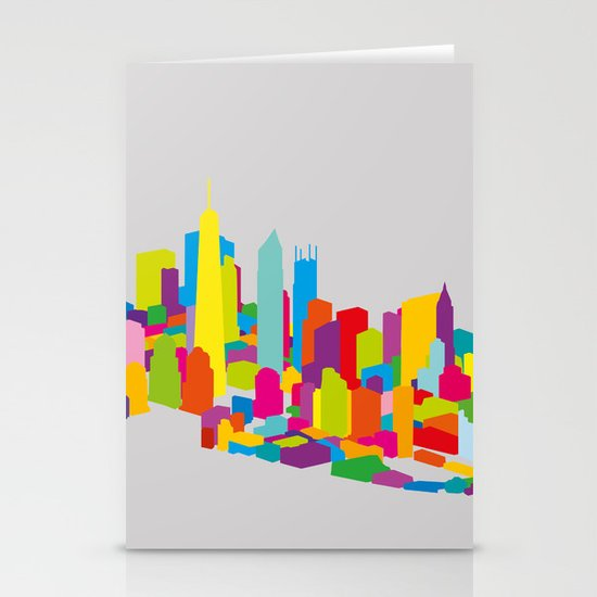 New WTC Isometric Stationery Card