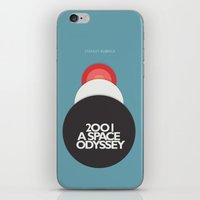 2001 a Space Odyssey - Stanley Kubrick Movie Poster iPhone & iPod Skin