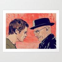 Dexter And Walter Art Print