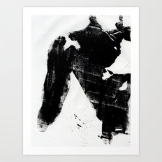 Body Language Art Print
