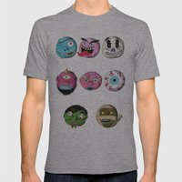 Madballs! Mens Fitted Tee Athletic Grey SMALL