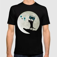 In Your Eyes Mens Fitted Tee Black SMALL