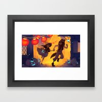 Harvest Festival Framed Art Print