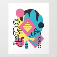 Espectre (#1) Art Print