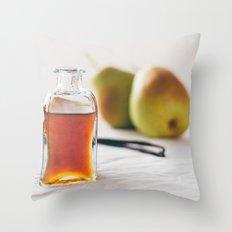 Pear and Vanilla Love Throw Pillow