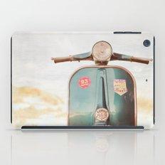 The Blue Vespa iPad Case