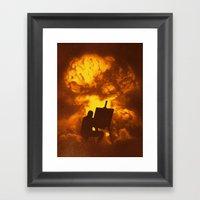 Disasterpiece Framed Art Print