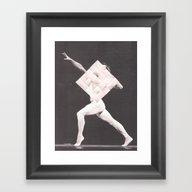 Framed Art Print featuring For No One by Jordan Clark