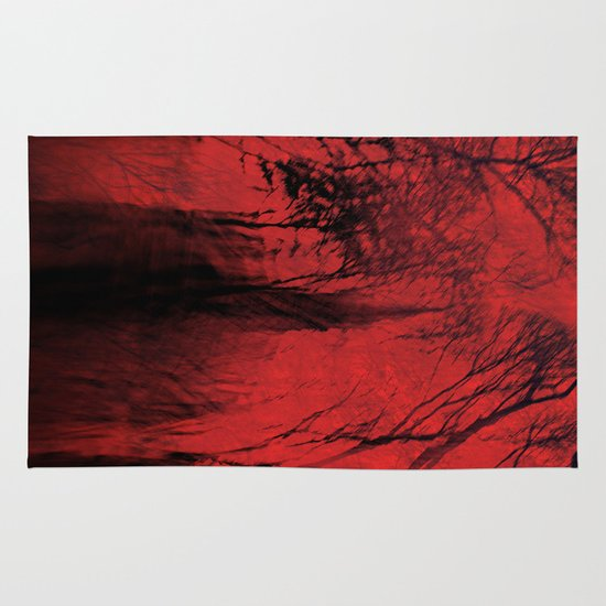 Blood red sky Area & Throw Rug
