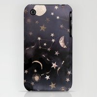 iPhone 3Gs & iPhone 3G Cases featuring Constellations  by Nikkistrange