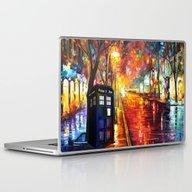 Tardis Full Color Laptop & iPad Skin