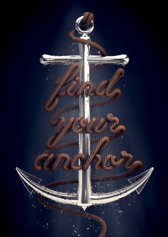 Find Your Anchor Art Print