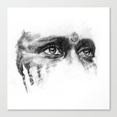 Warpaint Eyes Canvas Print
