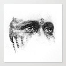 Warpaint Eyes Canvas Print