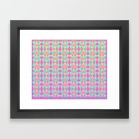 Cutout Manipulation Version IV Framed Art Print