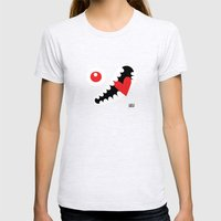 EYE LOVE Womens Fitted Tee Ash Grey SMALL
