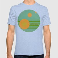 Stereolab (ANALOG zine) Mens Fitted Tee Tri-Blue SMALL