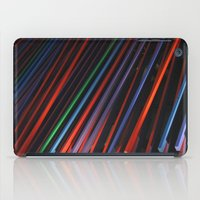 Colorful Beams iPad Case