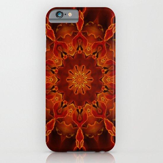 Kaleidoscoped Marigold iPhone & iPod Case