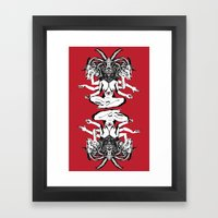 Woman is a Devil Framed Art Print