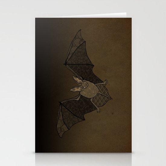 Batty Stationery Card