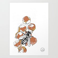 royal jelly Art Print