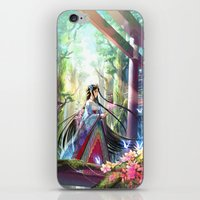 Rainbow Shrine iPhone & iPod Skin
