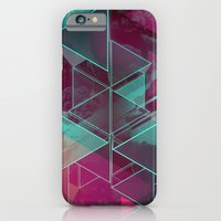 iPhone & iPod Case featuring Triangled by Tom Theys