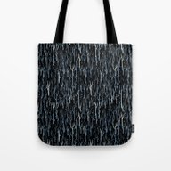 Tote Bag featuring Stopping By Woods On A S… by Littleclyde