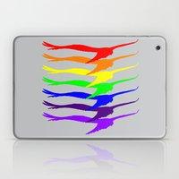 Fly Into The Rainbow Laptop & iPad Skin