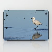Egret walk iPad Case
