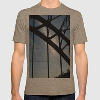 Plenum Mens Fitted Tee Tri-Coffee SMALL