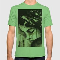 45702 Mens Fitted Tee Grass SMALL