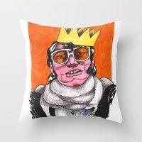 King Choker Throw Pillow