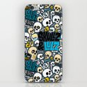 Skullz & Lulz Pattern iPhone & iPod Skin