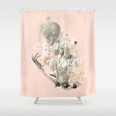 Stranger Danger I Shower Curtain