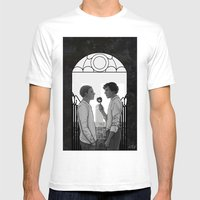 The Skull Mens Fitted Tee White SMALL