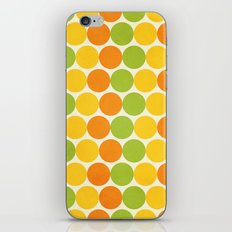 Zesty Polka iPhone & iPod Skin