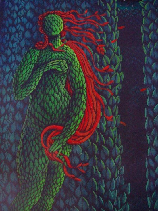 Topiary Venus Canvas Print