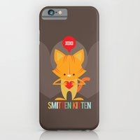 iPhone & iPod Case featuring Smitten Kitten by Steph Dillon