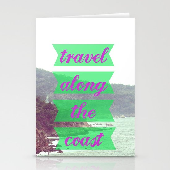 Travel Stationery Card
