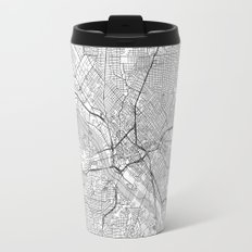 Dallas Map Line Travel Mug