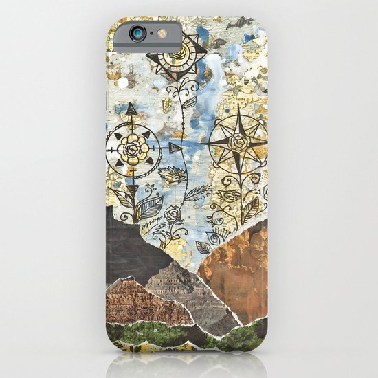 Compass Rose Garden iPhone & iPod Case